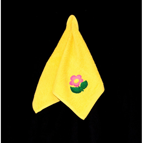 "Terry towel ""Big flower"""