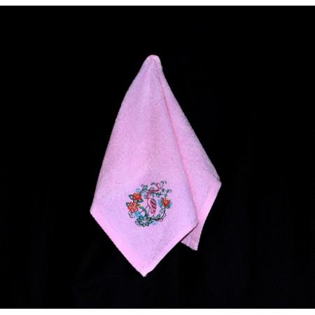 "Terry towel ""Flamingo"""