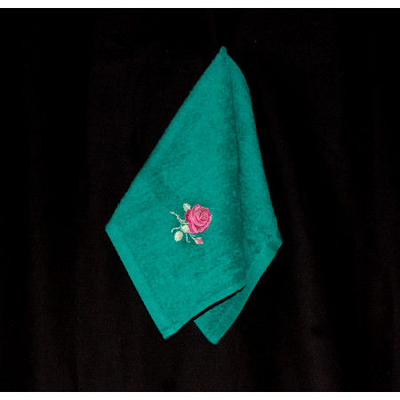 "Terry towel ""Rose 4"""