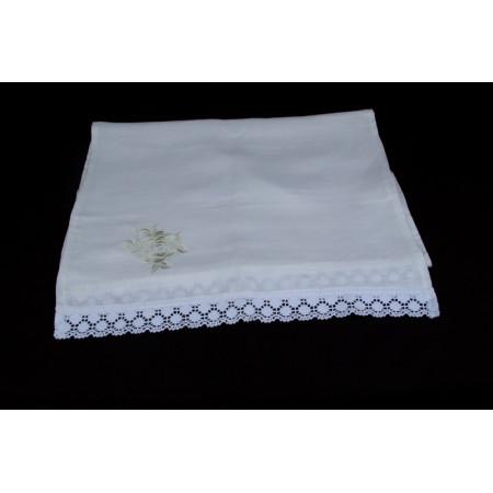 "Linen towel ""Rose"""