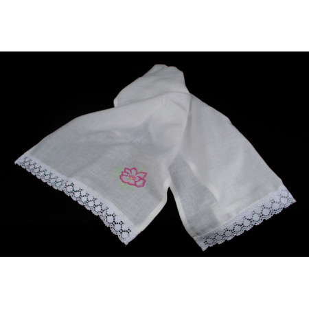 "Linen towel ""Flower"""