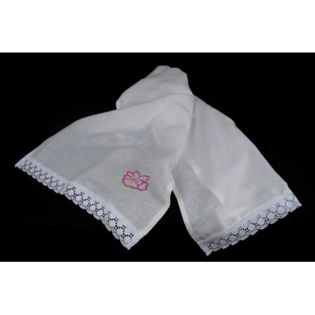 "Linen towel ""Flower"""
