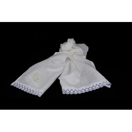 "Linen towel ""Rose 3"""