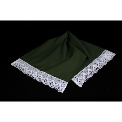 Khaki linen towel