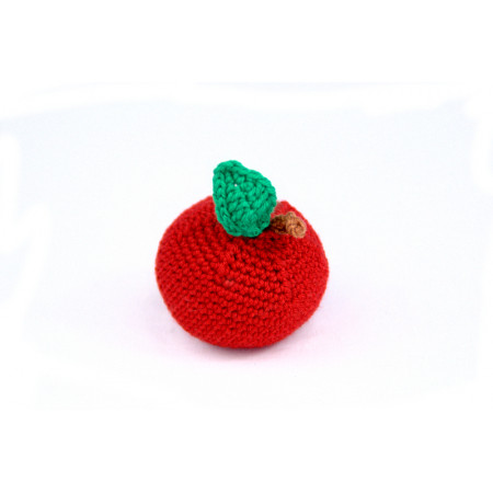 Crocheted apple
