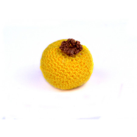 Crocheted orange