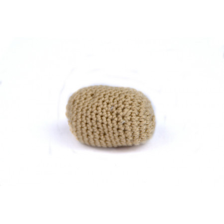 Crocheted potato
