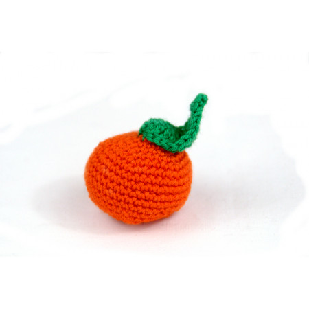 Crocheted mandarin