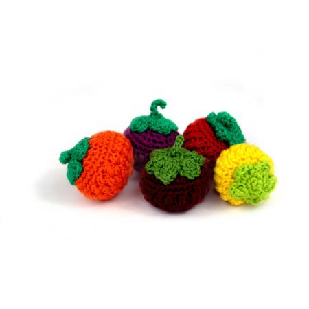 Crocheted berry