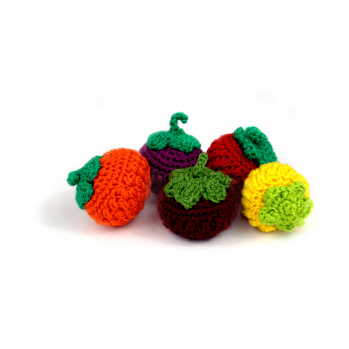 Crocheted berry