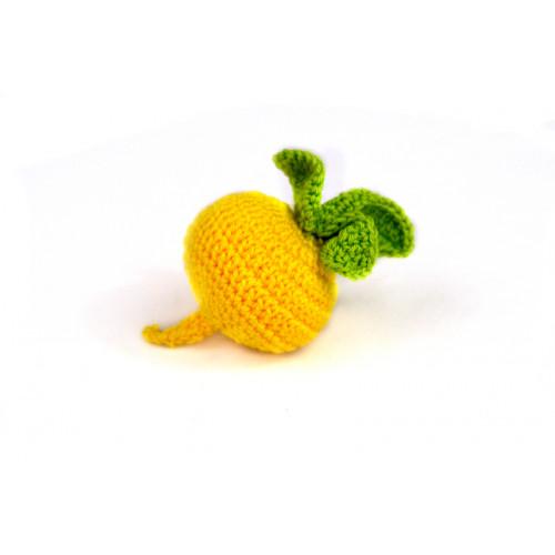 Crocheted turnip