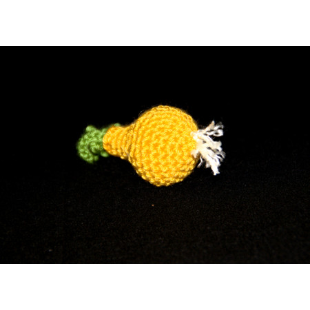 Crocheted onion