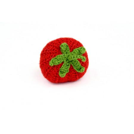 Crocheted tomato