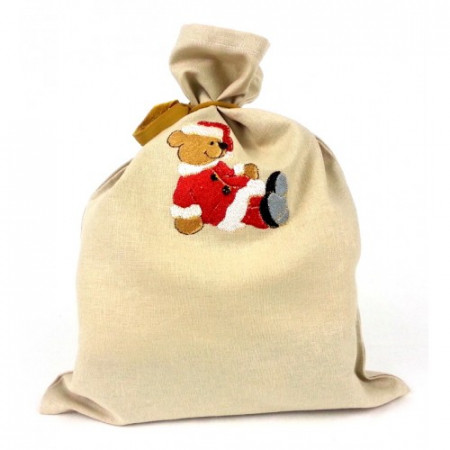 "Gift bag ""Christmas teddy bear"""