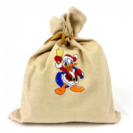 "Gift bag ""Christmas Donal Duck"""