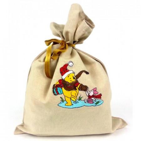 "Gift bag ""Christmas Winnie the Pooh"""