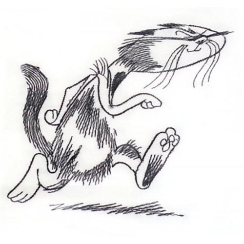 """Gift bag """"Cat run"""""""