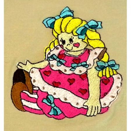 """Gift bag """"Doll"""""""