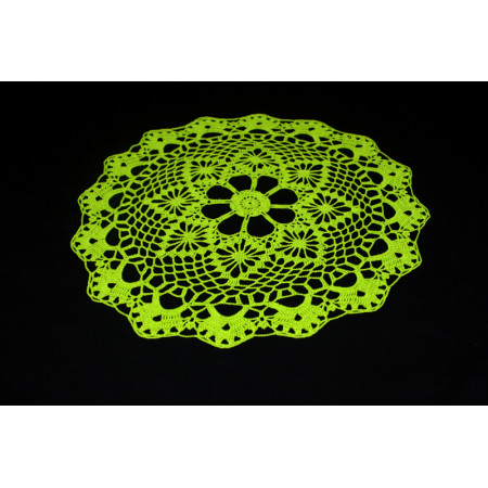 "Crocheted table doily ""Spring"""