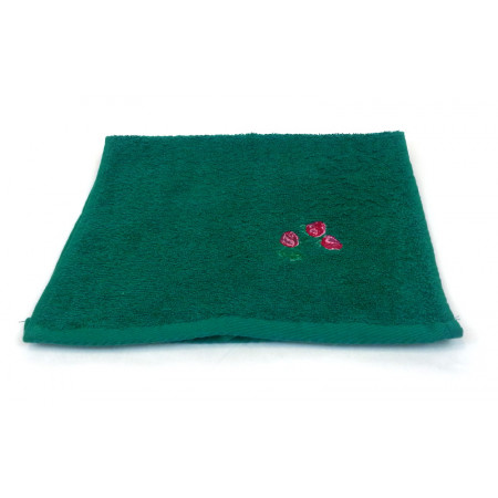 "Terry towel ""Small roses"""
