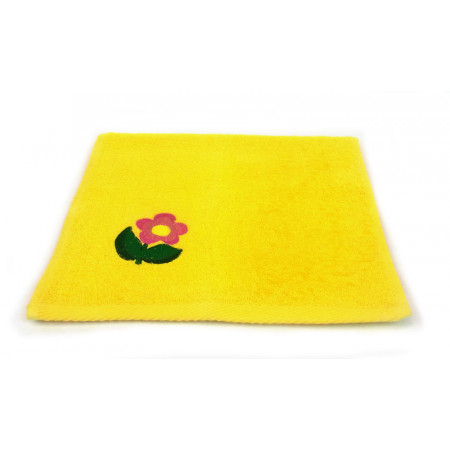 "Terry towel ""Big flower"""