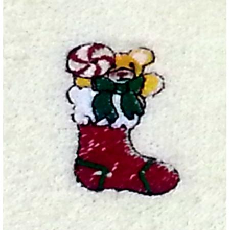 """Terry towel """"Christmas sock"""""""