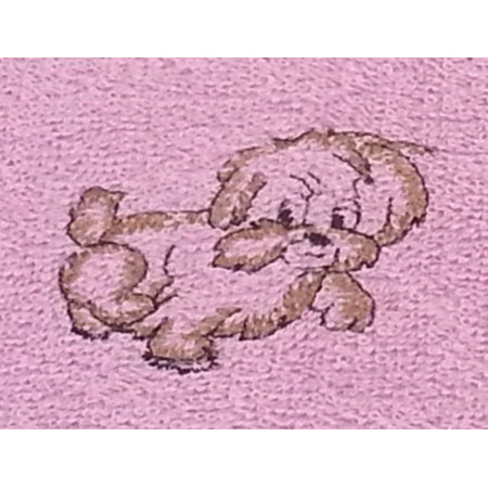 """Terry towel """"Funny dog"""""""