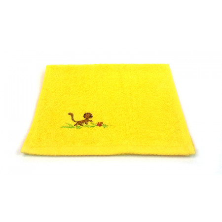 "Terry towel ""Kitty walk"""