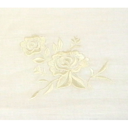 "Linen towel ""Rose 3"""