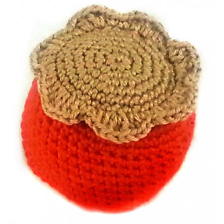 """Crocheted set  """"Southern fruit 2"""""""