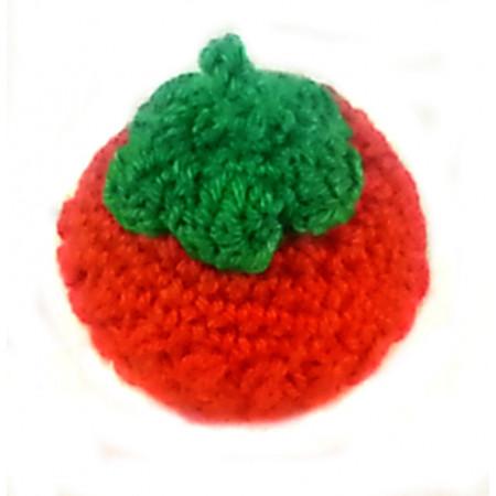 "Crocheted set ""Berries"""