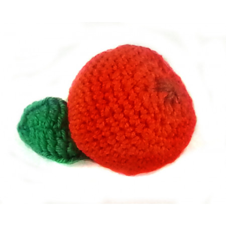 "Crocheted set ""Southern fruit"""