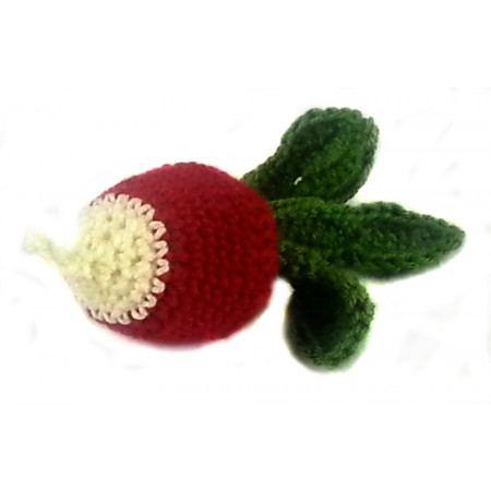 "Crocheted set ""Vegetables"""