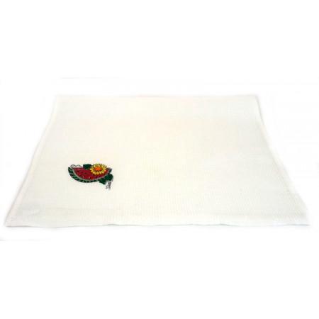 "Waffle cloth towel ""Watermelon"""